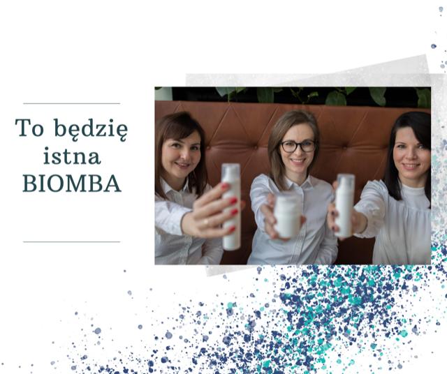 To będzie istna BIOMBA, czyli co ma wspólnego BioTeam z kremami do twarzy.